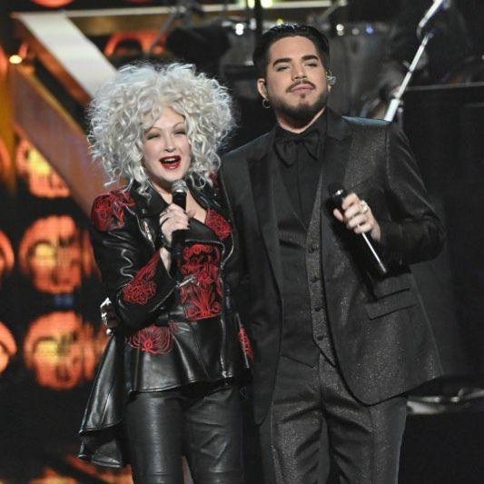Happy Birthday Adamlambert Cyndi Lauper Adam Lambert
