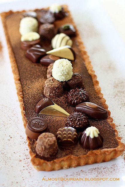 Forrest Gump (Chocolate) Tart