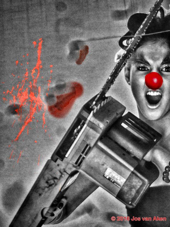 ha! ha! said the clown