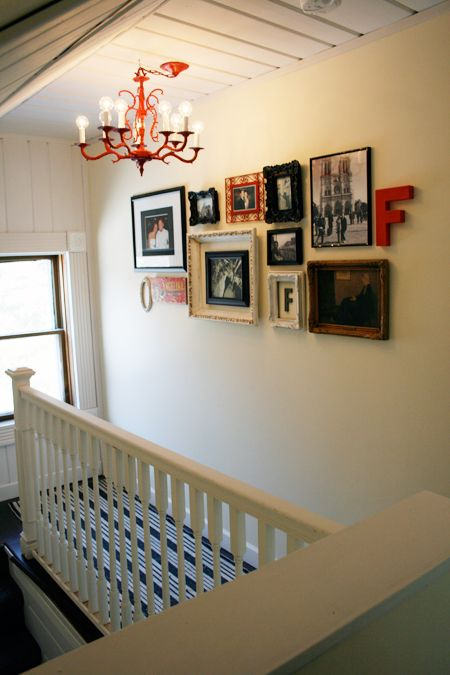 Hanging a wall collage made easy with step by step instructions!
