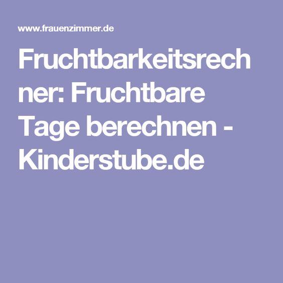 Fruchtbarkeitsrechner: Fruchtbare Tage berechnen - Kinderstube.de