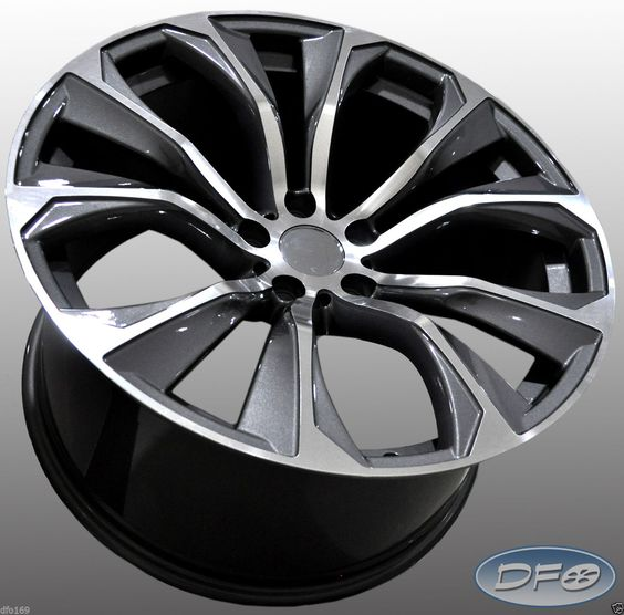 """Bmw X6 Wheels: Details About 21"""" 2016 X6 M STYLE STAGGERED ALLOY WHEELS"""
