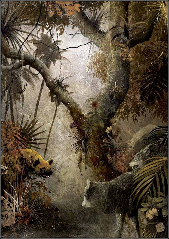Luis Gabriel Pacheco   Gabriel Pacheco. El libro de la Selva