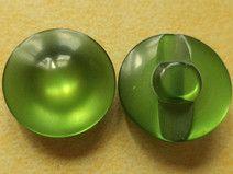 18 kleine KNÖPFE grün 16mm (2556) Blusenknöpfe