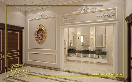 Pin By Bazzar Design On تصميم مداخل Design Interior Design Luxury Design