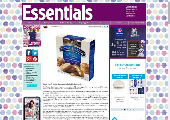 Essentials Magazine giveaway