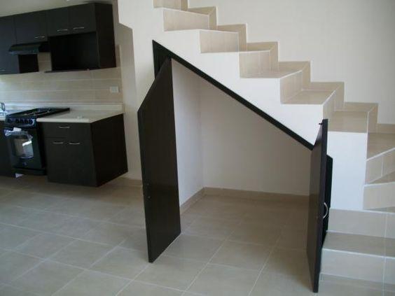 alacenas debajo de escaleras - Google Search : Escaleras : Pinterest ...