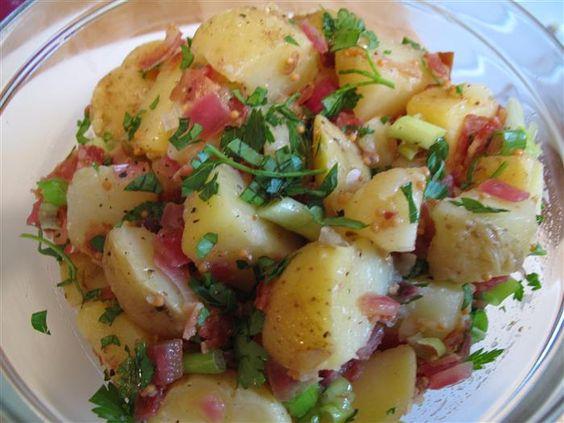 Salada de Batatas Alemã