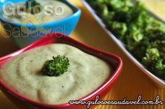 Receita de Molho de Maionese e Brócolis