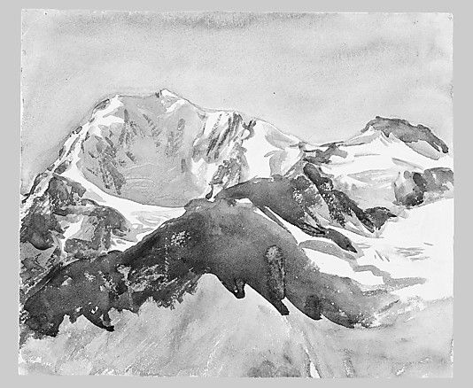 John Singer Sargent - Snow: