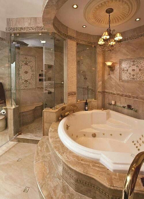 I would never leave my bathroom!!