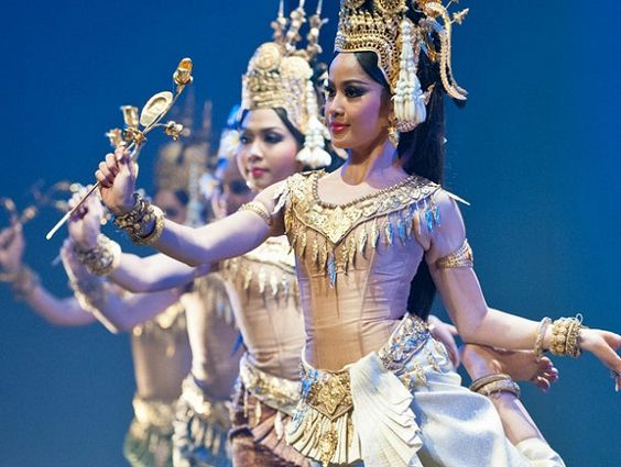 Điệu múa Apsara tại Campuchia có nguồn gốc từ Hindu giáo