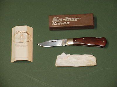 Ka-bar 1186 Pocket Knife With Box And Paperwork https://t.co/W7QW0UXKzL https://t.co/sHYkM1hLri