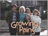 Growing Pains. I was totally in love with Mike Seaver and felt especially bad for him when he was going to cheat on a test, but then didn't and got busted anyway when the teacher saw his cheat sheet written on the bottom of his shoe. His mom never should have let him hang around a guy named Boner.