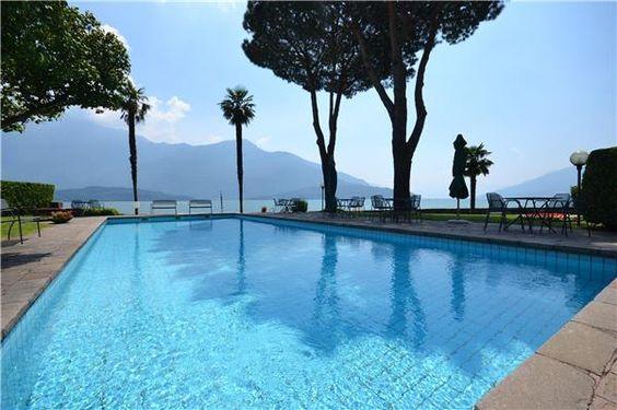 Splendid views at Lake Como, Italy