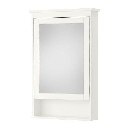 Hemnes mirror cabinet with 1 door white hemnes ikea and mirror - Specchio bagno ikea hemnes ...