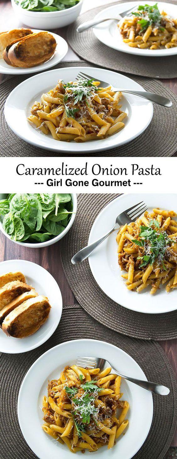 French onion soup pasta recipe