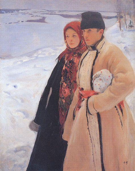 Oleksander Murashko: Winter (1905).
