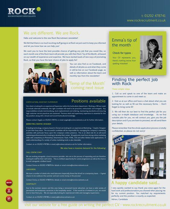 Business Newsletter Template Work Pinterest Newsletter - office newsletter