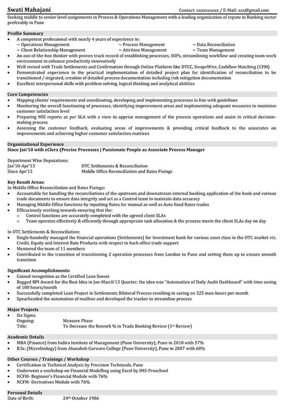 Resume Format Manager Format Manager Resume Resumeformat Resume Format Sample Resume Templates Project Manager Resume