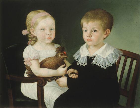 Matevž Langus(1792 - 1855)  —   Primičeva Julija z bratom Janezom