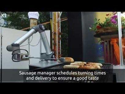 BratWurst Bot : un robot absolument nécessaire pour votre partie de barbecue Il enregistre les commandes, prépare et sert les saucisses aux invités