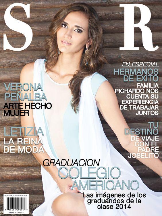 La artista plástica Verona Peñalba en portada