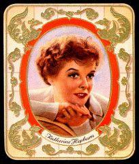German Cigarette Card - Katherine Hepburn | by cigcardpix