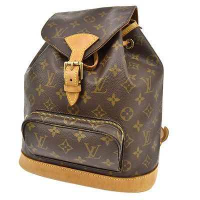 AUTH LOUIS VUITTON MONTSOURIS MM BACKPACK BAG MONOGRAM PURSE M51136 bs622 https://t.co/gTiZNulijA https://t.co/6bk15diP3z