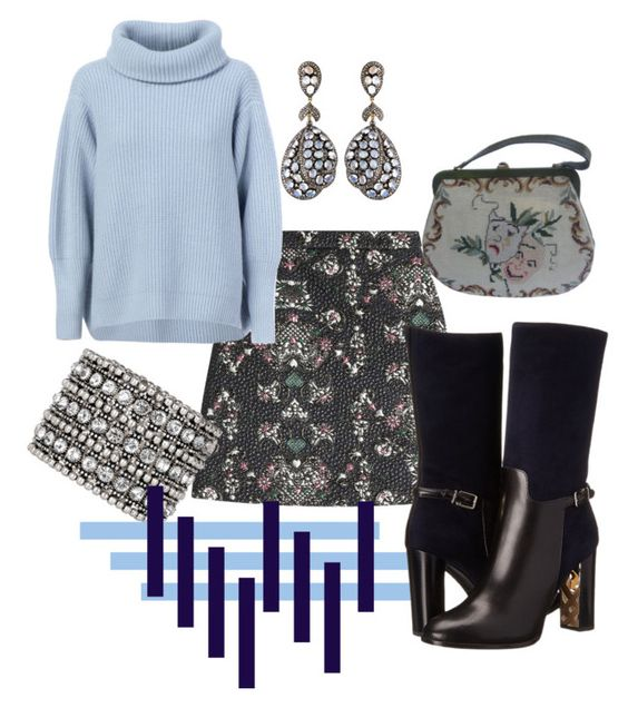 """""""Hessdallen"""" by rellenj ❤ liked on Polyvore featuring MSGM, Maison Ullens, Karats & Carats, Accessorize and Burberry"""