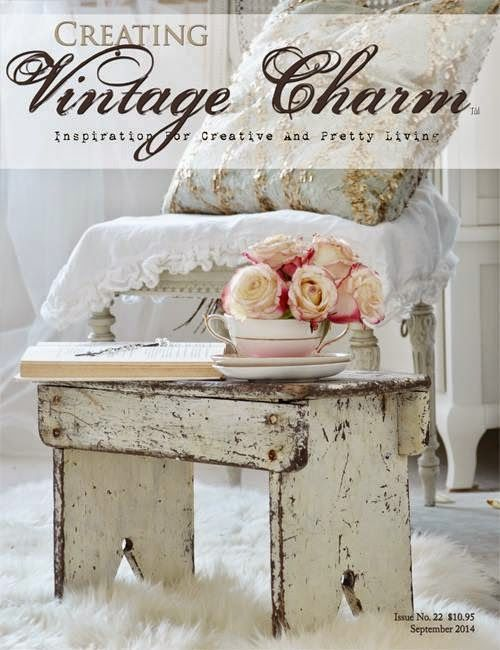 3 Vintage Hearts: Twig Rustic Woodland Hanger featured in September ...