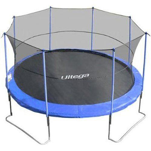 Ultega 14-Foot Jumper Trampoline With Safety Net Ultega