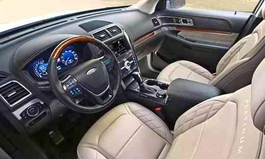 2020 Ford Explorer Sport Ford Explorer Ford Explorer Interior