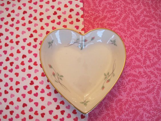 Valentine Heart Placemats Reversible Rectangle Set 4 or 6 ...