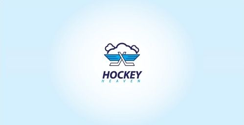Cloud logo Design Hockey Heaven