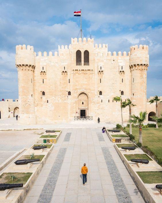 Citadel of Qaitbay, Alexandria, Egypt by Wandering Wheatleys