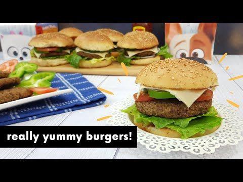 برجر اللحمه الاقتصادى وخبز الكيزر الهش جدا احسب هتدفع كام فى ماكدونلز فالكميه اللى عملناها وقولنا Youtube Delicious Burgers Baked Burgers Food