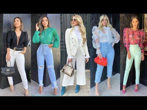 Pantalones De Moda 2021 Looks Elegantes Y Casuales Con Pantalones De Moda Y Tendencia 2020 2021 Youtube Pantalones De Moda Moda Tendencias De Moda