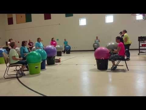 Cardio Drumming For Seniors Youtube Cardio Drumming Recreation Therapy Exercise