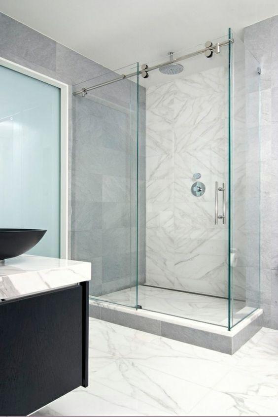 duschtrennwand duschkaninen aus glas glasduschwand - Duschtrennwand Glas