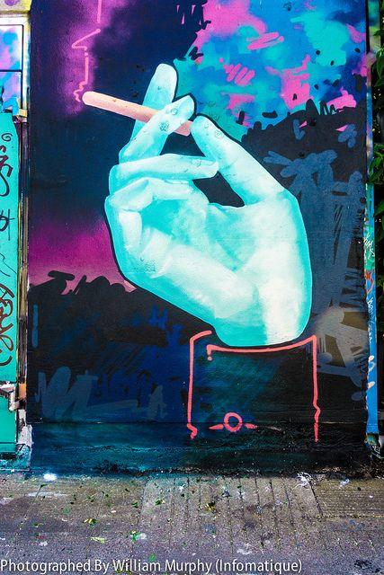 Street Art In Portobello [Streets Of Dublin Project By William Murphy] #graffiti