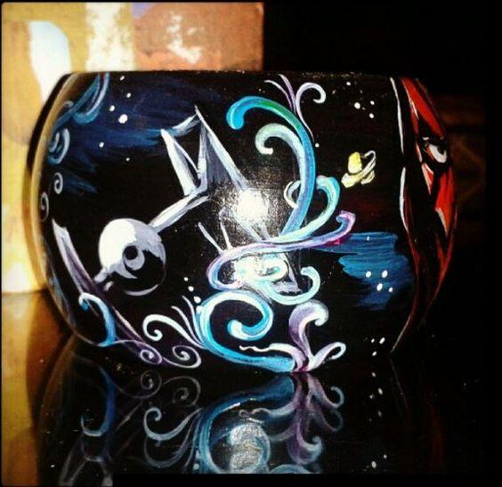 #cat_a_strofa #art #braselet #handmade #painting #katerynaart #cattattoo