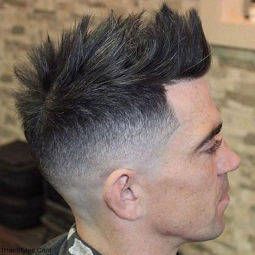 Top 36 Trending And Most Stylish Faux Hawk Haircuts Of 2019 In 2020 Mohawk Hairstyles Men Mens Hairstyles Short Faux Hawk Men