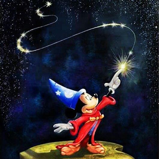 Fantasia, Mickey mouse and Mice on Pinterest  Fantasia, Micke...