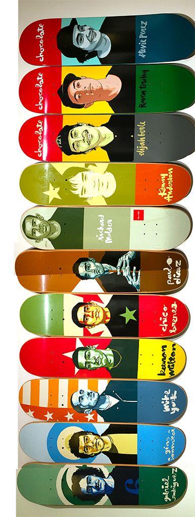 Chocolate Skateboards Team Decks #evanhecox
