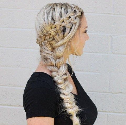 Amazing Long Thin Hair Thin Hair And Side Braid Hairstyles On Pinterest Short Hairstyles For Black Women Fulllsitofus