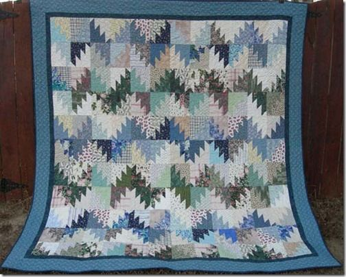 Interesting Bonnie Hunter Quilt