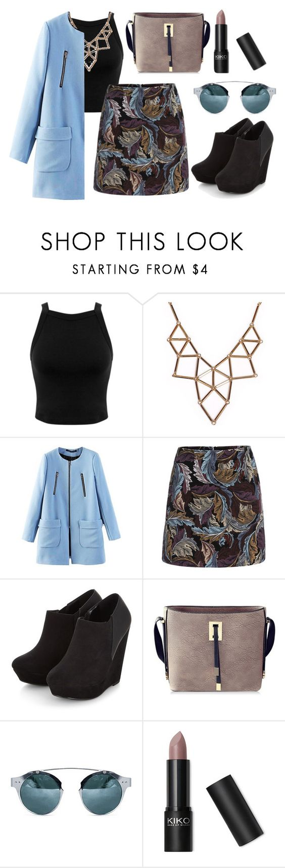 """Nameit  #71"" by ericakslzr on Polyvore featuring Miss Selfridge and Chicnova Fashion"