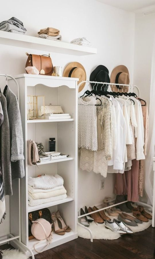 Best 25+ Color Coordinated Closet Ideas On Pinterest | Black Closet, Black  And White Style And Open Wardrobe