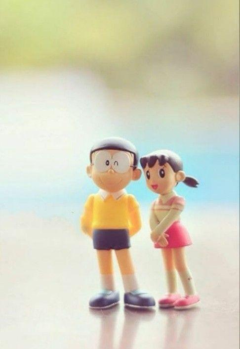 Nobita And Shizuka Mobile Wallpaper In 2021 Cute Cartoon Pictures Cute Love Wallpapers Doraemon Wallpapers
